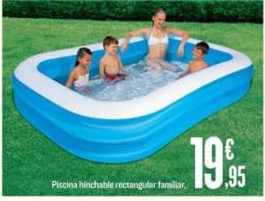 Piscinas hinchables piscinas for Piscinas de plastico carrefour