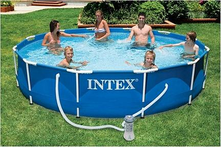 Piletas de lona marcas y fabricantes for Carrefour piscinas intex